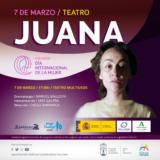 TEATRO DIA DE LA MUJER 'JUANA'